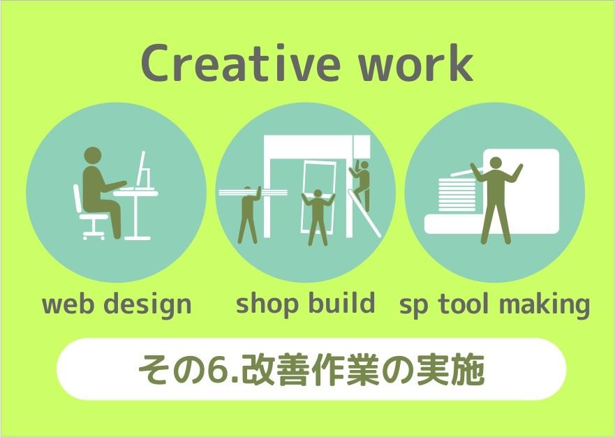 6、クリエイティブワーク(様々な製作・創造)